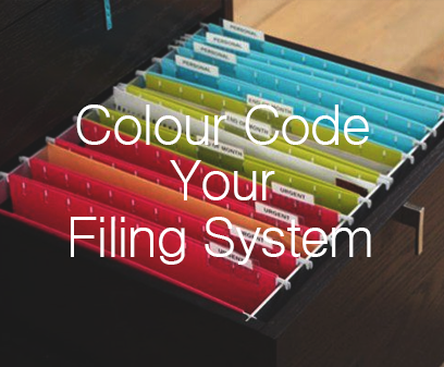 Colour Code Your Filing System