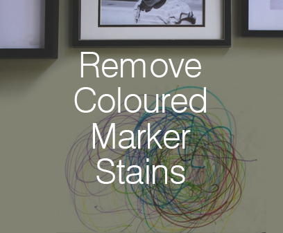 Remove Coloured Marker Stains