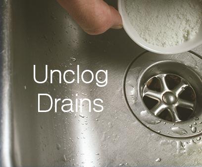 Unclog drains